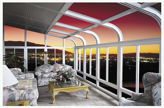 California sunrooms company by sunrooms tv for Cost of solarium